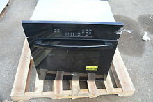 GE JK3000DFBB 27  Blk Single Electric Wall Oven w Steam Self Cleaning  17167 CLW