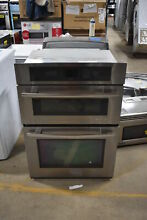 Jenn Air JMW3430WS 30  Stainless Microwave Oven Combo Wall Oven NOB  1551 MAD