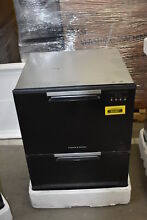 Fisher Paykel DD24DAB9N 24  Black Full Console Dishwasher NOB  40287 HRT