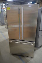 GE Monogram ZWE23ESHSS 36  Stainless French Door Refrigerator NOB  28437 MAD