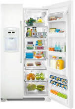 Frigidaire FFSC2323LP 36 Inch Counter Depth Side by Side Refrigerator in White
