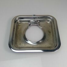 VTG Antique TAPPAN DELUXE Stove Parts   Chrome DRIP TRAY  Small