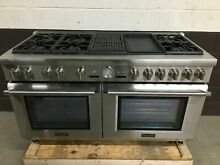 Thermador PRD606RCG 60  Dual Fuel Range Pro Grand 6 Burners Griddle   Grill
