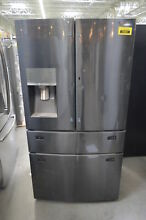 Samsung RF28JBEDBSG 36  Black Stainless French Door Refrigerator NOB  36507 HRT