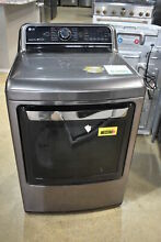LG DLGX7601KE 27  Black Stainless Front Load Gas Dryer 7 3 Cu Ft NOB  34411 CLW