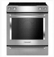 KitchenAid KSEG700ESS 30  Stainless Slide In Convection Electric Range 37266 HRT