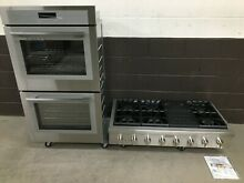 2 pc set  Thermador MED302WS Double Oven 36  and PCG486WL Range Top 48