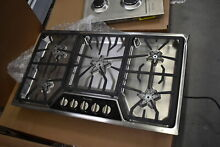 Thermador SGSX365FS 36  Stainless Gas 5 Burner Cooktop NOB  29946 HRT