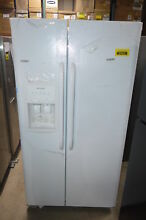 Frigidaire FFHS2622MW 36  White Side By Side Water Ice Refrigerator  31219 MAD