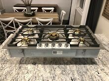 Watch Testing On YouTube   Gaggenau  36  Cooktop Rangetop Stainless  Natural Gas