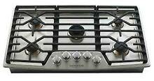 LG Signature Kitchen UPCG3654ST 36  Built In Stainless 5 Burner Gas Cooktop WiFi