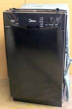 Midea 18  8 Place Setting Built In Dishwasher Black M18DB9339BB3A_R
