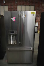 GE Cafe CFE28TSHSS 36  Stainless French Door Refrigerator NOB  39723 HRT