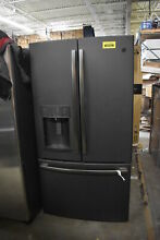 GE GFD28GELDS 36  Black Slate French Door Refrigerator  39731 HRT