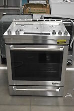 Jenn Air JGS1450FP 30  Stainless Professional Electric Range NOB  36772 MAD