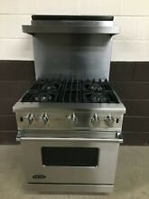 Viking VGCC5304BSS 30  Professional Gas Range Oven 4 Burner Stainless