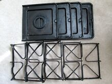 Grates 5303272852 Drip Trays 316011401 Complete Set Frigidaire Tappan Gas Range