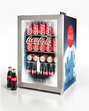 Nostalgia Coca Cola Beverage Cooler 80 Can Drinks Limited Edition Commercial New
