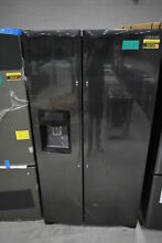 Samsung RS25H5111SG 36  Black Stainless Side by Side Refrigerator  31967 CLN