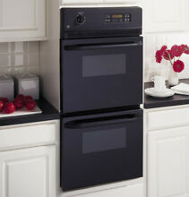 GE JRP28BJBB 24  Black Double Electric Wall Oven NOB  28383 MAD