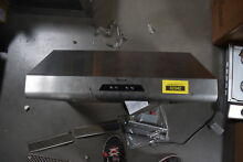 Thermador HMWB30FS 30  Stainless Wall Mt  Range Hood NOB  30490 CLW