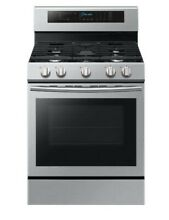 Samsung Stainless Steel True Convection Freestanding Gas Range  NX58J7750SS
