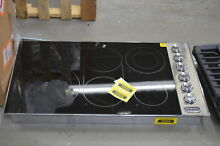 Viking VEC5366BSB 36  Stainless Electric Cooktop NOB  33248 CLW