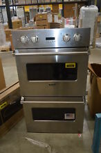 Viking VEDO1302SS 30  Stainless Double Electric Wall Oven NOB  31437 CLW