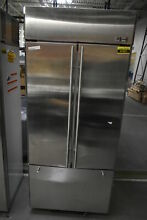 GE ZIPS360NHSS 36  Stainless Built In French Door Refrigerator  41821 HRT