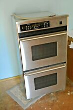 Frigidaire feb798wcci Gallery Stainless Steel Double Electric Wall Oven