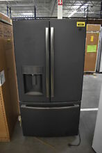 GE GFE28GELDS 36  Black Slate French Door Refrigerator  35897 CLN