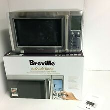 Breville Quick Touch Microwave BM0734XL   Silver