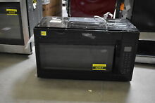 Whirlpool WMH32519FB 30  Black Over The Range Microwave NOB  42067 HRT