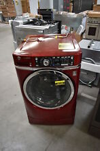 GE GFW490RPKRR 28  Red Front Load Washer  42128 HRT