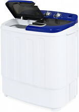 Washer Dryer Combo 13lbs Compact Mini Portable Electric Washing Machine 1300RPM