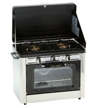 Double Burner Outdoor Camp Tailgating Cooking Propane Gas Range Stove Durable