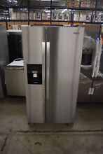 Whirlpool WRS321SDHZ 33  Stainless Side By Side Refrigerator NOB  32289 CLN