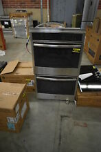 GE PT7550SFSS 30  Stainless Double Electric Wall Oven NOB  42248 CLN