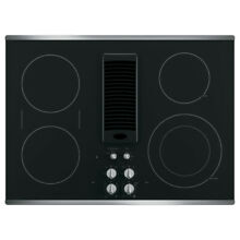 GE PP9830SJSS 30  Stainless Steel Downdraft Electric Cooktop C 01