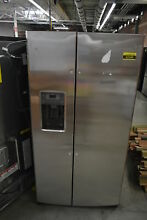 GE GSE25HSHSS 36  Stainless Side By Side Refrigerator NOB  42349 CLN