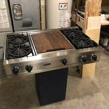 Watch Close Up   Testing on YouTube  Viking  42  Pro Cooktop Rangetop W  Griddle