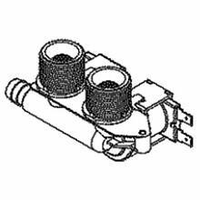 Ge WH13X27314 Washer Water Inlet Valve