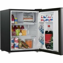 Mini Fridge with Freezer Refrigerator Dorm Room Party Cooler Small Office 2 7 Cu