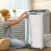 Portable Compact Full Automatic Washing Machine 1 6 Cu ft  EP23781