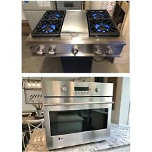 Watch On YouTube GE Monogram Single Wall Oven   Rangetop 2 Piece Cooking Package
