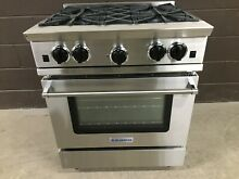 BlueStar 30  RNB304BBSS Stainless Steel Freestanding Gas Range Stove