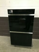 Wolf DO30CM B   30  M Series Contemporary Built In Double Oven Black