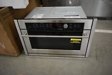 GE Monogram ZSC1001JSS 27  Stainless Built In Microwave NOB  43003 HRT