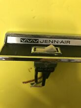 Jenn Air 4 Wire Fan Switch OEM USED JENNAIR WITH CHROME MOUNT