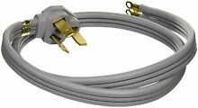 GE 40A 125 250V Universal 3 Wire Range 4  Power Cord WX09X10006